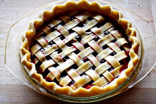 рецепт яблочного пирога плетенка